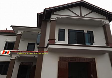 Công trình cửa nhôm Xingfa tem xanh tại huyện An Lão, Hải Phòng