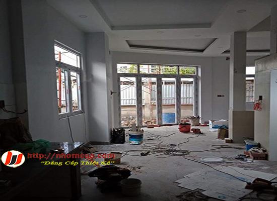 Công trình cửa nhôm Xingfa nhập khẩu tại thị trấn Yên Mỹ, Hưng Yên.
