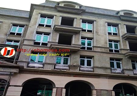 Công trình cửa nhôm hệ AD nhập khẩu tại Mê Linh, t.p Vĩnh Phúc