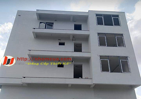 Công trình cửa nhôm hệ cao cấp JMA tại xã Toàn Thắng, Gia Lộc, Hải Dương.