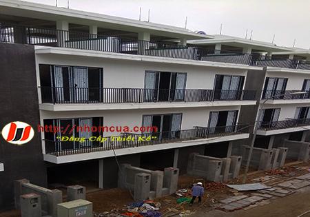 Công trình cửa nhôm PMI nhập khẩu tại Tuệ Tĩnh, t.p Hải Dương