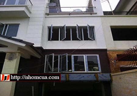 Công trình cửa nhôm Xingfa tại quận Lê Chân, Hải Phòng