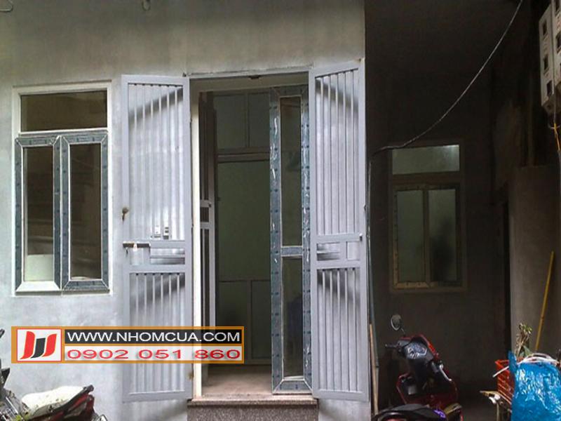 Thi công cửa nhựa lõi thép tại thị trấn Nam Sách,Hải Dương