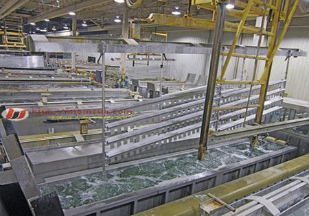 Quy trình xử lý và sản xuất bề mặt nhôm Anode.