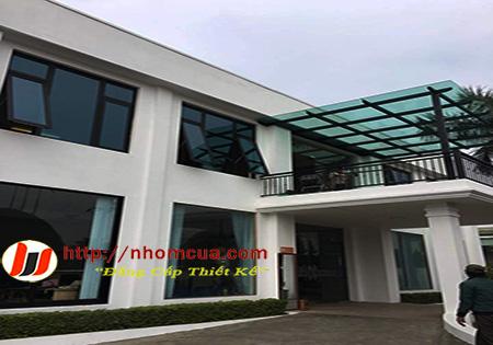 Công trình cửa nhôm Đông Á tại Hưng Hà, t.p Thái Bình