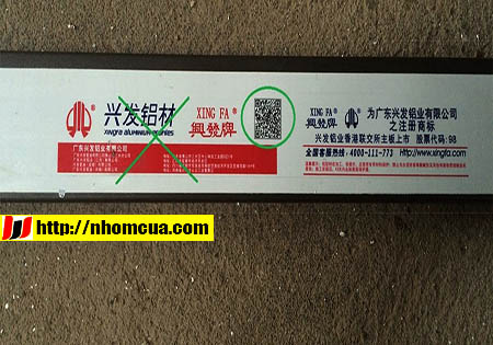Địa chỉ cung cấp nhôm Xingfa tem đỏ chính hãng tại Hải Dương.