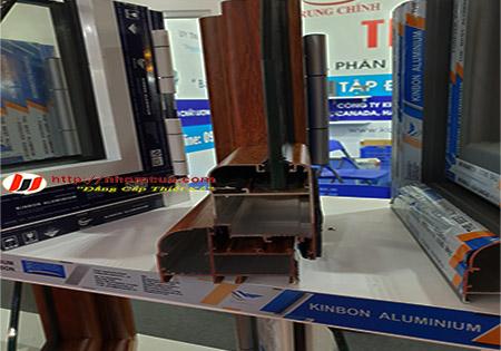 Sản xuất lắp đặt cửa sổ nhôm kính Kinbon tại Hải Dương.