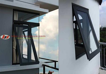 Giới thiệu về cửa sổ mở hất nhôm Việt Pháp.