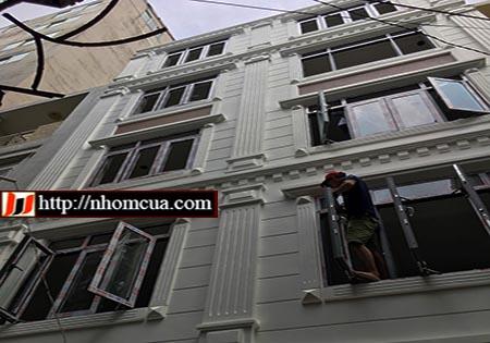 Các bước thi công lắp đặt cửa nhôm Xingfa cao cấp