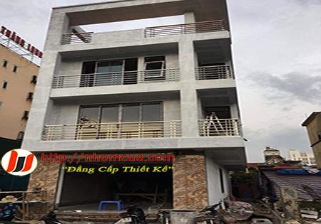 Thi công cửa nhựa lõi thép uPVC đẹp giá rẻ tại Kim Thành,Hải Dương