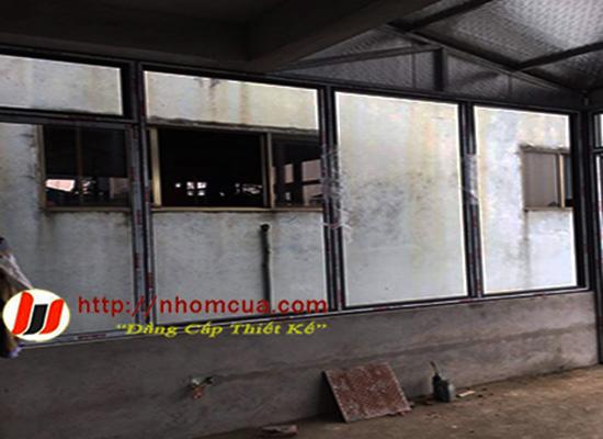 Công trình cửa nhôm Xingfa tại Hoàng Quốc Việt, t.p Hải Dương