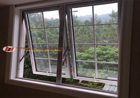 Giới thiệu về cửa sổ mở hất nhôm Xingfa nhập khẩu.