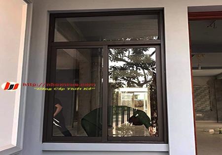 Giới thiệu về cửa sổ mở trượt nhôm Việt Pháp.