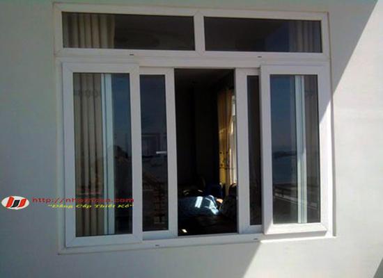Cửa sổ mở trượt nhôm Việt Pháp