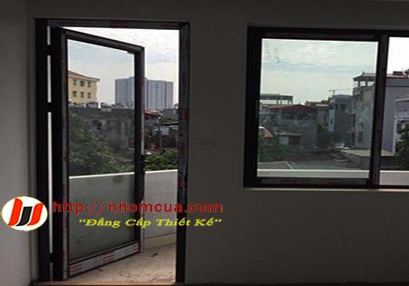 Tư vấn số đo thông thủy cửa nhôm Xingfa nhập khẩu.