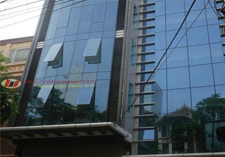 Vách kính mặt dựng nhôm Xingfa nhập khẩu cao cấp.