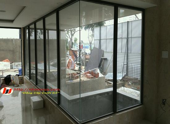Những tính năng của hệ vách kính cố định Hoàng Sơn Window.